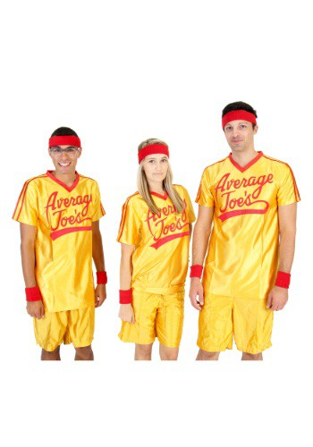 Disfraz de camiseta de dodgeball para adulto