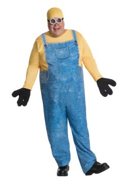 Disfraz de Minion Bob talla extra