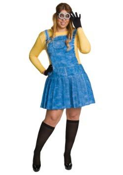 Disfraz de Minion femenino talla extra