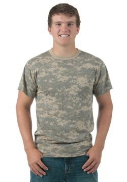 Camiseta de camuflaje digital ACU para adulto