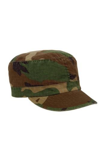 Sombrero de fatiga de camuflaje Woodland Women's