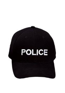 Gorra de béisbol policía para adulto
