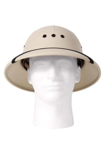Sombrero de cazador Khaki Pith para adulto
