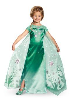 Disfraz de Elsa Frozen Fever Deluxe para niñas
