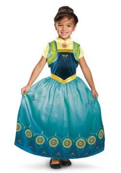 Disfraz de Anna Frozen Fever Deluxe para niñas