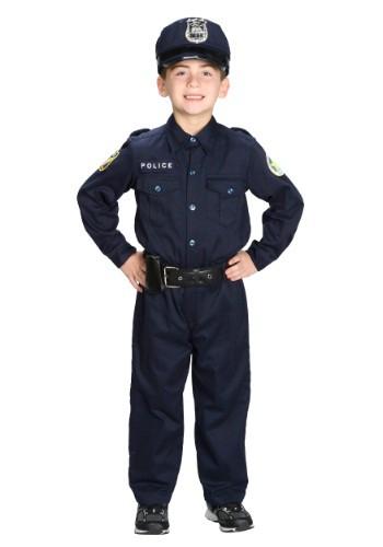 Disfraz de Oficial de Policía Deluxe para niño