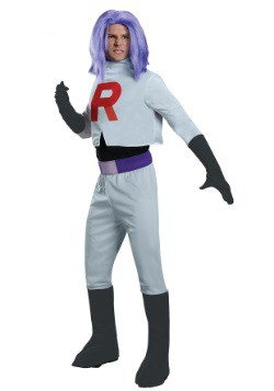 Disfraz de James Team Rocket para adulto