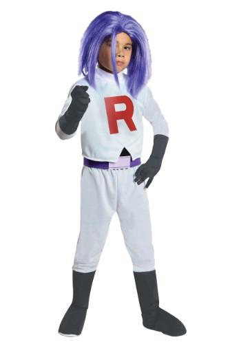 Disfraz infantil de James del equipo Rocket