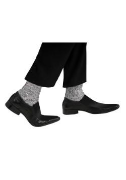 Calcetines de Michael Jackson con brillos para adulto