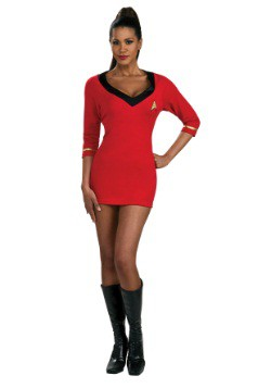 Disfraz de Uhura de Star Trek Secret Wishes Classic