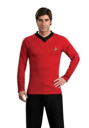 Camisa de Scotty de Star Trek Classic Deluxe