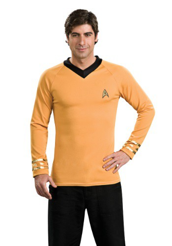 Camisa del Capitán Kirk de Star Trek Classic Deluxe