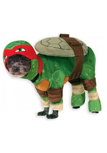Disfraz para mascotas TMNT Raphael