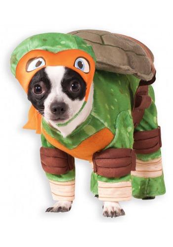 Disfraz para mascotas de Miguel Ángel TMNT