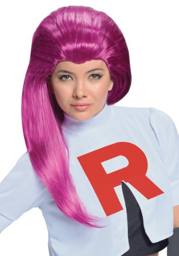 Peluca de Jessie de Team Rocket para adulto