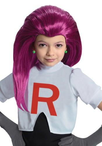 Peluca de Jessie del equipo Rocket para niños