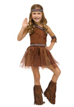 Toddler Give Thanks Indian Costume