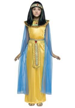 Disfraz de Cleoparta dorado para niña