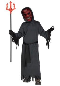 Disfraz infantil de diablo humeante