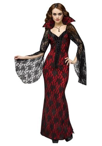 Disfraz de mujer de vampiro elegante
