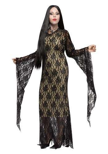 Disfraz de Miss Oscuridad talla extra