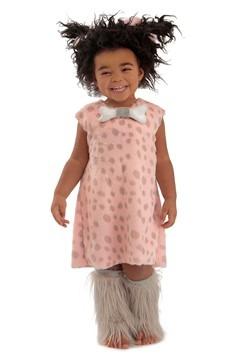 Disfraz para niñas de nena de las cavernas