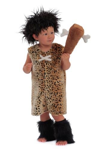 Disfraz de cavernícola para niños pequeños