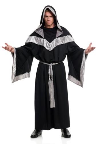 Disfraz de brujo malvado para hombre