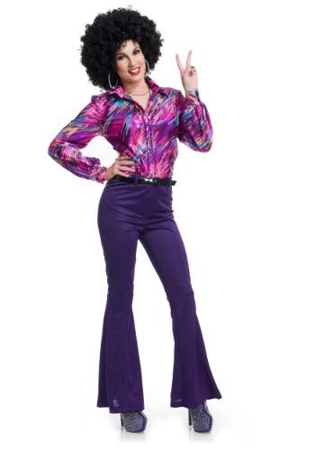 Camisa para mujer Disco Queen