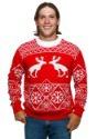 Suéter de Navidad feo alce haciendo popó