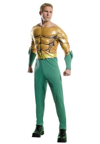 Disfraz de Aquaman adulto Deluxe