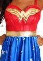 Disfraz vestido largo de Mujer Maravilla talla extra deluxe