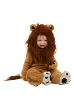 Disfraz de león deluxe para bebé