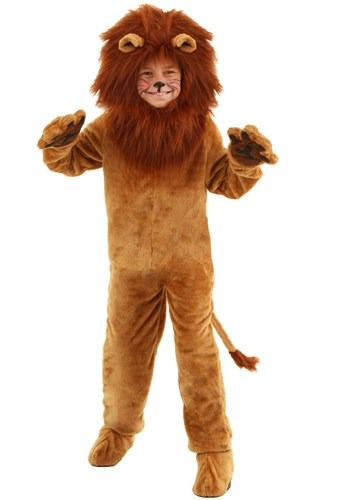 Disfraz infantil de león deluxe