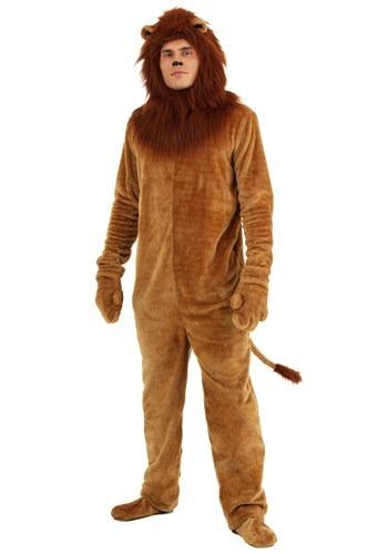 Disfraz de leon deluxe para adulto