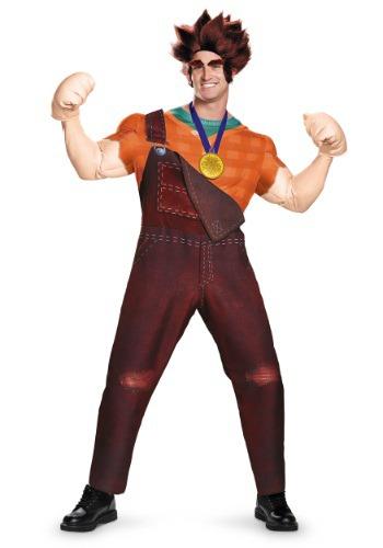 Disfraz de Ralph el Demoledor deluxe para adulto