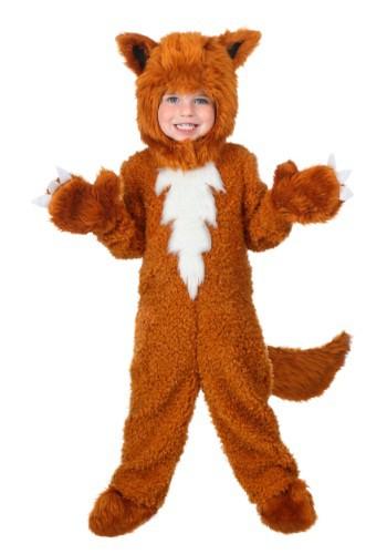 Disfraz de zorro para niños pequeños