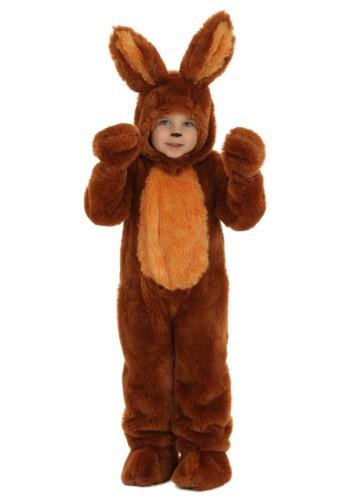 Disfraz de conejo café para niños pequeños