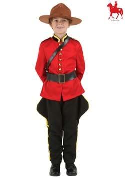 Disfraz de policía montado canadiense para niños