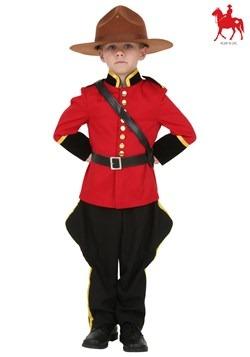 Disfraz de policía montado canadiense para niños pequeños