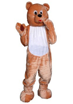 Disfraz de mascota de osito para adulto