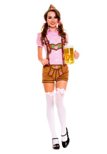 Disfraz para mujer Lederhosen Beer Babe