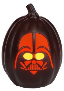 """Calabaza con iluminación de Darth Vader de Star Wars de 12"""""""