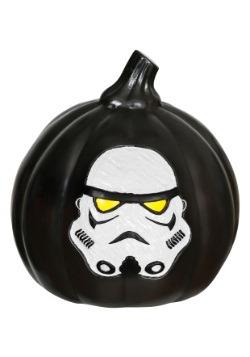 Calabaza negra con luz Stormtrooper Star Wars