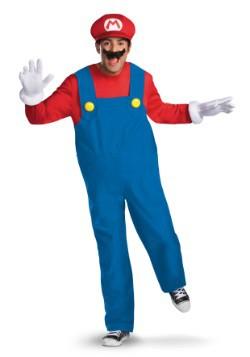 Disfraz de Mario deluxe para hombre