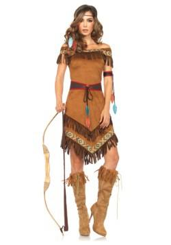Disfraz de princesa nativa