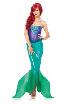 Disfraz de sirena de mar profundo para mujer