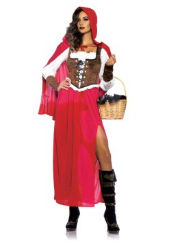 Disfraz de Caperucita Roja Woodland para mujer