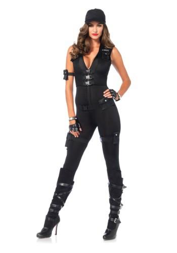 Traje de lujo SWAT Commander de mujer