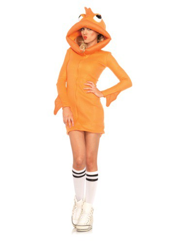 Disfraz de Goldfish acogedor para mujer